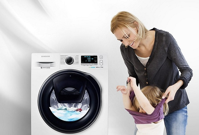 Máy Giặt Samsung báo lỗi UC – Nguyên nhân và cách khắc phục